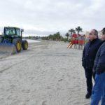 Cartagena reclama a Costas la instalación de cinco balnearios en sus playas del Mar Menor