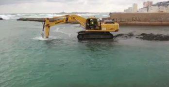 Podemos acusa a la CARM de regenerar playas en el Mar Menor a espaldas del comité científico